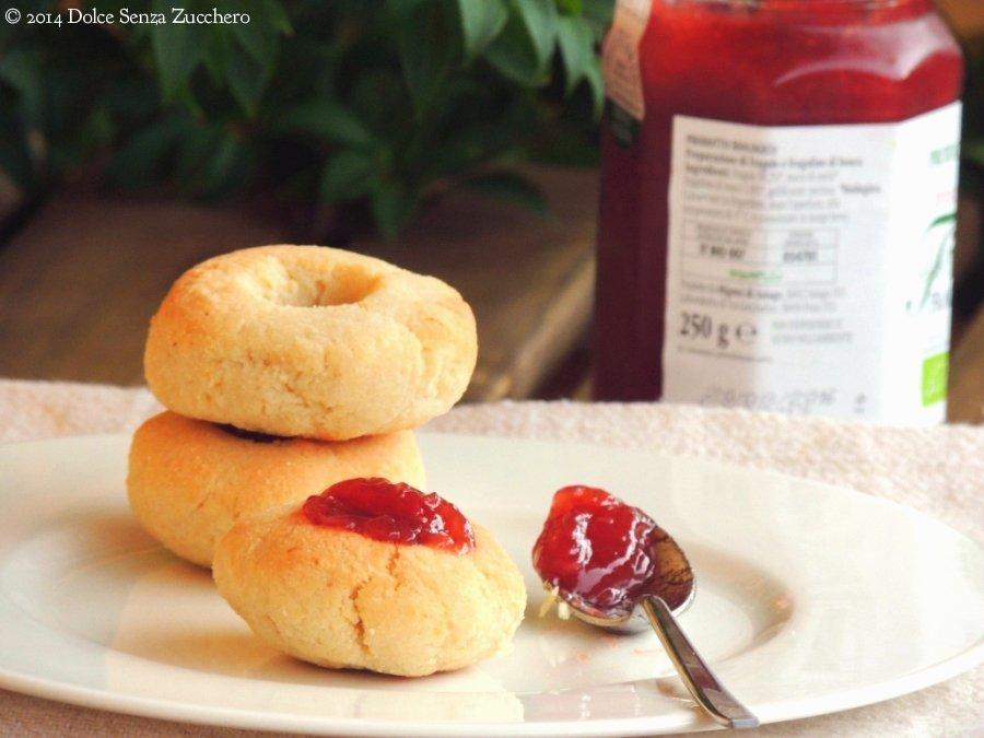 Biscotti Senza Zucchero sono stati realizzati con Farina di Mandorle e Stevia: una ricetta Naturale e Biologica con Indice Glicemico Basso