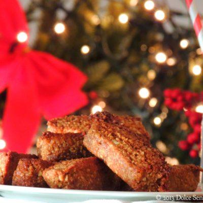 Biscotti Speziati delle feste senza zucchero 2