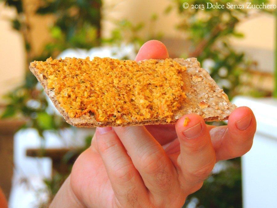 Burro Vegan di Carote, Alge e Mandorle (5)