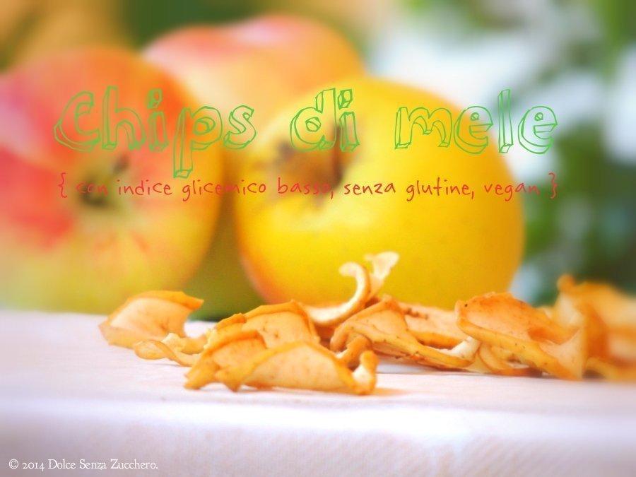 Chips di Mele (Senza Zucchero, IG Basso, Senza Glutine e Vegan)