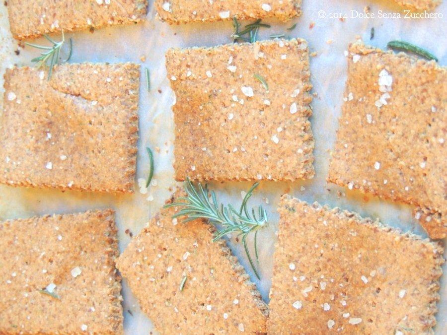 Crackers al Rosmarino Senza Farina (1)