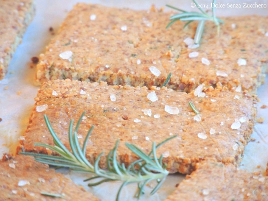 Crackers al Rosmarino Senza Farina (5)