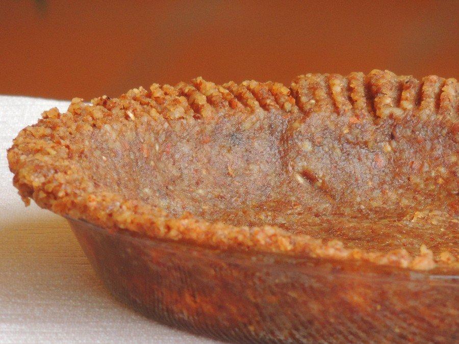 base per crostata senza farina e senza zucchero