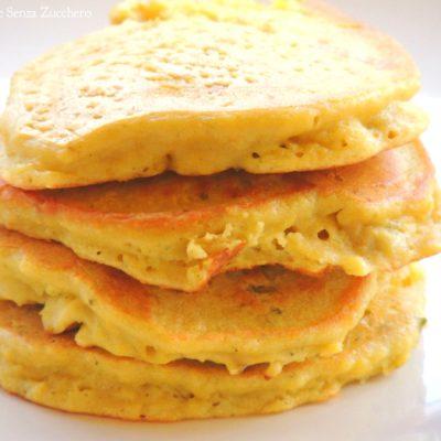 Pancakes Senza Farina e Senza Glutine (con Purè di Cicerchie)
