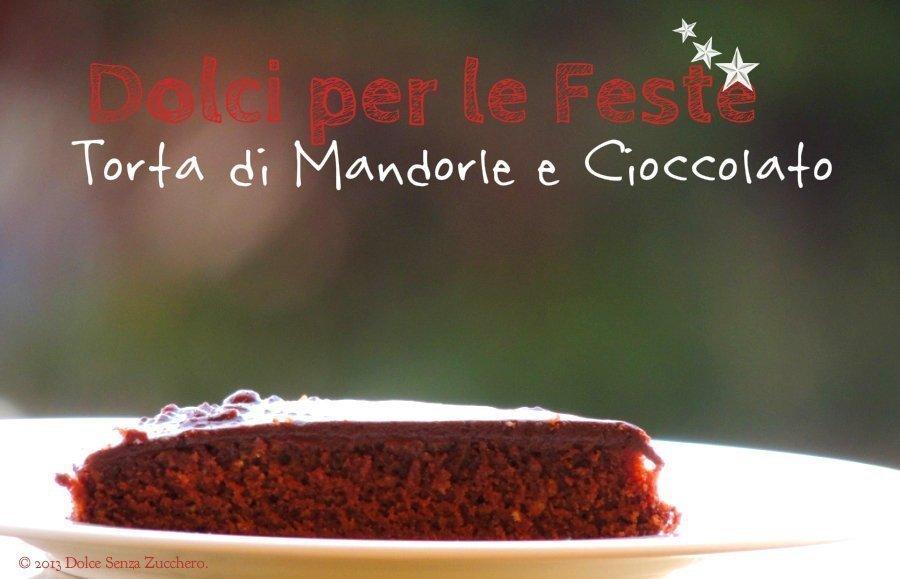 Torta Paleo di Mandorle e Cioccolato