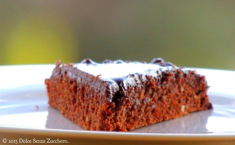 Semplice Torta Mandorle e Cioccolato (8)