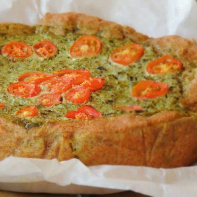 Torta Rustica Vegetariana di Bietole e Cicoria