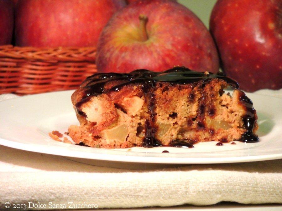 Torta di Mele con Caramello Senza Glutine