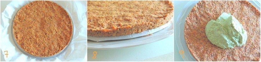 Torta di Carote, Mandorle e Arance (Crudista) | Dolce Senza Zucchero 7-9