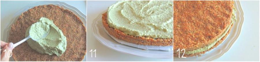 Torta di Carote, Mandorle e Arance (Crudista) | Dolce Senza Zucchero_10-12